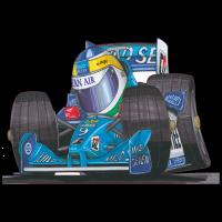 Autocollant F1_Benetton_Fisicella