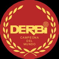 Sticker DERBI LOGO Rond Rouge