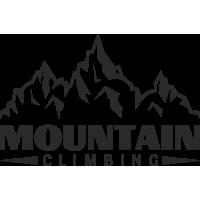 Sticker Montagnes Climbing Déco