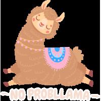 Sticker No Prob Llama 2