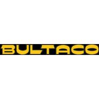 Sticker Logo Bultaco Jaune