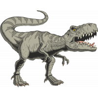 Sticker Dinosaure T Rex 3