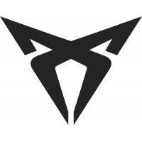 Sticker SEAT CUPRA 2 logo