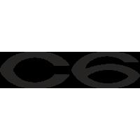Sticker Citroen C6