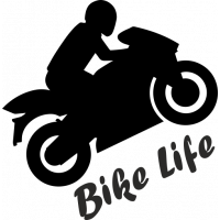 Sticker Bike Life