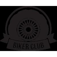 Sticker Déco Baril Biker