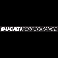 Sticker LOGO DUCATI Performance Noir