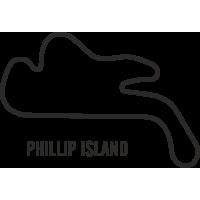 Sticker Circuit Phillip Island