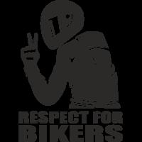 Sticker RESPECT FOR BIKERS