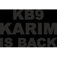 Sticker Karim Benzema is Back
