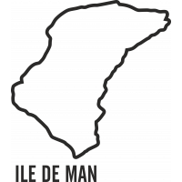 Sticker Circuit Ile de Man