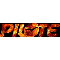 Sticker PILOTE FIRE