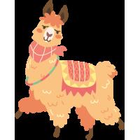 Sticker Lama 3