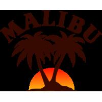 Autocollants Malibu