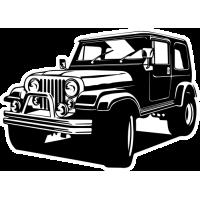 Sticker JEEP Car 2