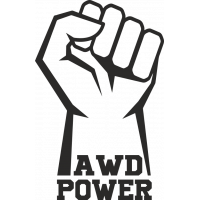 Sticker AWD POWER