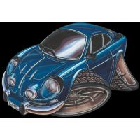 Autocollant 543-Renault Alpine