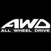 Sticker 4x4 AWD All Wheel Drive 2
