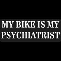 Sticker Moto MY BIKE IS MY PSY