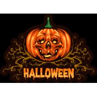 Stickers Halloween Citrouille 2