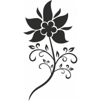 Sticker Fleurs 4