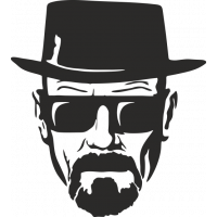 Sticker Breaking Bad Heisenberg