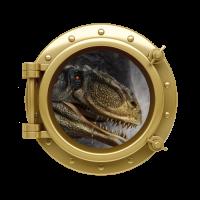 Sticker Hublot Dinosaure T Rex