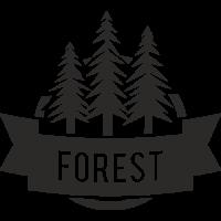 Sticker Déco Baril Forêt
