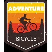 Sticker Adventure Bike