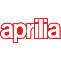 Stickers Aprilia Rouge et Blanc