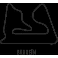 Sticker Circuit Bahreïn
