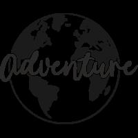 Sticker Monde Mappemonde Globe 5