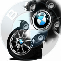 Sticker jante bmw