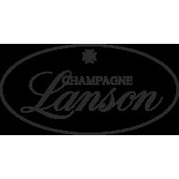 Sticker Lanson Champagne