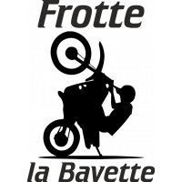 Sticker Frotte la Bavette