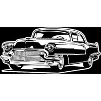 Sticker CADILLAC Car