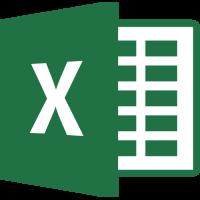 Sticker Mcrosoft Excel