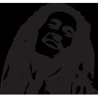 Stickers Bob Marley 2