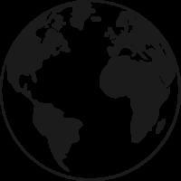Sticker Monde Mappemonde Globe