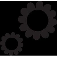 Stickers Fleurs 40