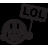 Sticker Smiley 5