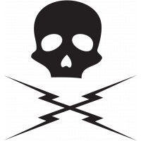 Sticker Tête de Mort 1