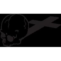 Sticker Tête de Mort 4