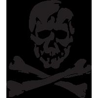 Sticker Tête de Mort 7