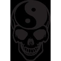 Sticker Tête de Mort 8