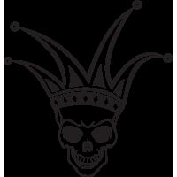 Sticker Tête de Mort 14
