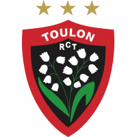 Sticker Rugby Club Toulonnais RCT TOULON 2