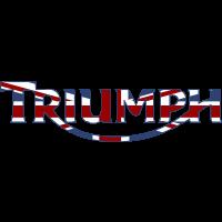 Autocollant Triumph Flag