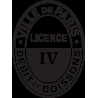 Sticker Licence IV -Débit Boissons 4