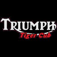 Autocollant Triumph Tiger Cub